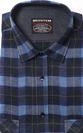 Фланелевая рубашка хлопок/шерсть BROSTEM KA5 - фото 16197