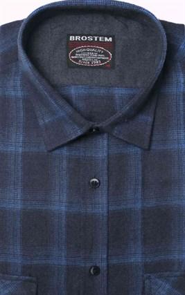 Фланелевая рубашка хлопок/шерсть BROSTEM KA6 - фото 16202