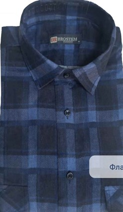 Байковая рубашка 100% хлопок BROSTEM F205(F17111100-3) - фото 16333