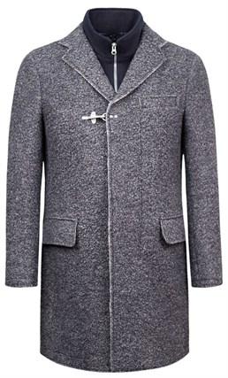 Трикотажное пальто Марсель SF - фото 16391