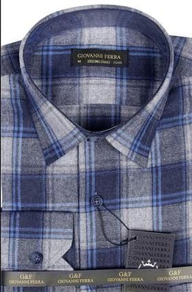 Фланелевая рубашка шерсть/хлопок AS 540-5 - фото 16484