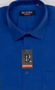 Прямая мужская рубашка BROSTEM CVC10 - фото 16497