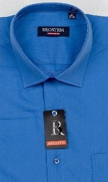 Прямая мужская рубашка BROSTEM CVC41 - фото 16501