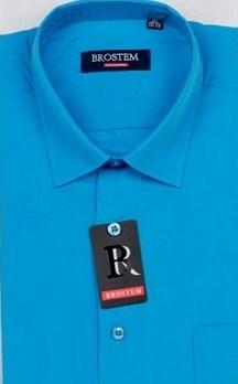 Прямая мужская рубашка BROSTEM CVC54H - фото 16511