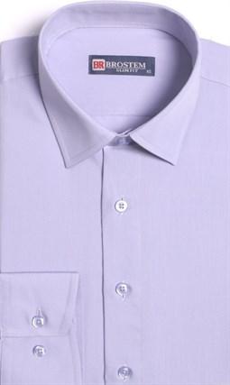 Прямая мужская рубашка BROSTEM CVC 50 - фото 16519