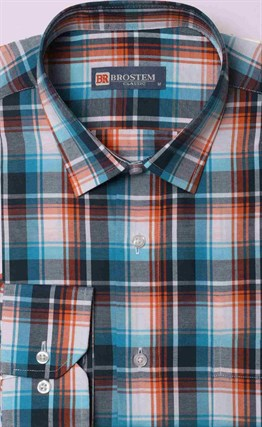 Прямая рубашка мужская Brostem 9LBR50-13 - фото 16523