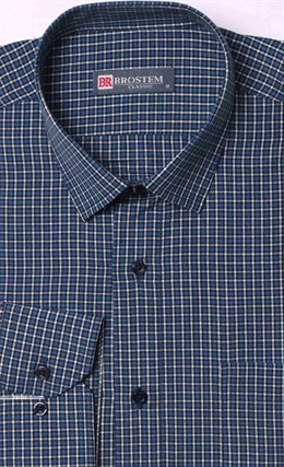 Прямая рубашка мужская Brostem 9LBR50-27 - фото 16539
