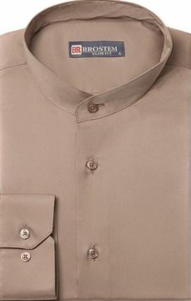 Приталенная со стойкой рубашка BROSTEM 8LBR86+1 - фото 16602