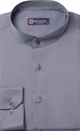 Приталенная со стойкой рубашка BROSTEM 9LBR86+4 - фото 16610