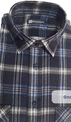 Байковая рубашка 100% хлопок BROSTEM F209 - фото 16626