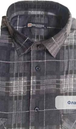 Байковая рубашка 100% хлопок BROSTEM F-208 - фото 16630