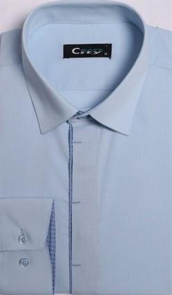 Приталенная рубашка стрейч CITY RACE 8LCR25-2 - фото 16643