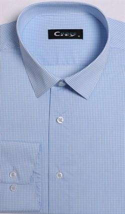 Приталенная рубашка стрейч CITY RACE 8LCR41-2 - фото 16647