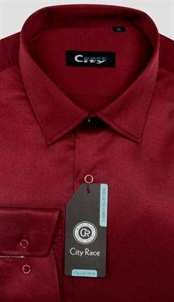 Приталенная рубашка стрейч CITY RACE 6029-5 - фото 16649