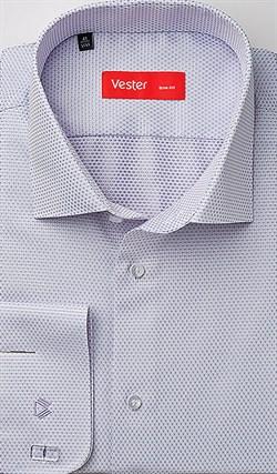 Нарядная рубашка приталенная VESTER 70714-15sp-20 - фото 16694