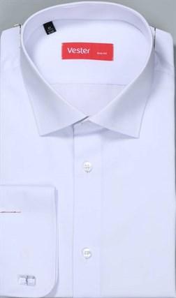 Большая белая сорочка VESTER 707141-14-01 - фото 16698