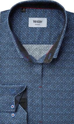 Рубашка с эластаном приталенная VESTER 22018-02sp-20 - фото 16725