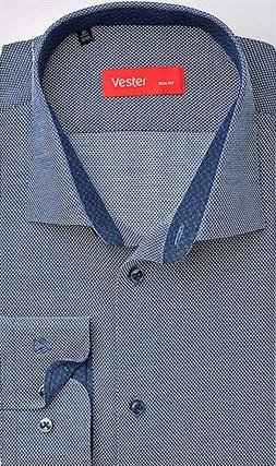 Рубашка приталенная VESTER 93014-01sp-20 - фото 16733