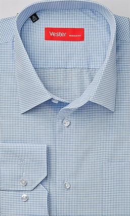 Прямая рубашка VESTER 69914-06sp-20 - фото 16762