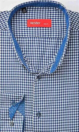 Рубашка приталенная VESTER 19414-10sp-20 - фото 16820