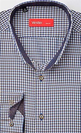 Рубашка приталенная VESTER 19414-11sp-20 - фото 16829