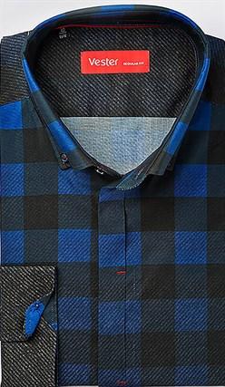 Рубашка с эластаном VESTER 21918-06sp-20 - фото 16849