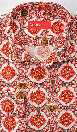Рубашка стрейч VESTER 24518-07sp-20 - фото 16867