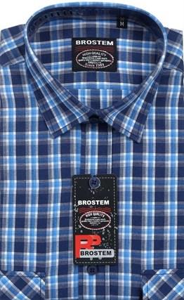 100% хлопок большая рубашка SH662g BROSTEM - фото 16961