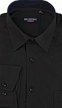 Большая черная рубашка CVC1g  BROSTEM - фото 16967