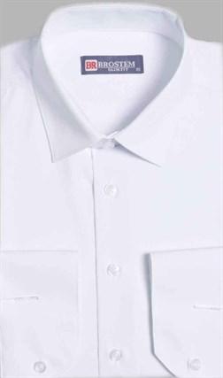 Приталенная рубашка с модалом 4701A** - фото 17073