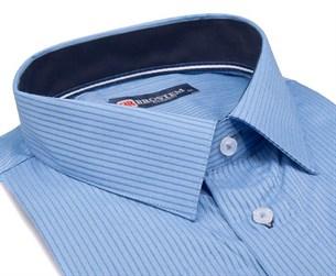 Большая мужская рубашка с коротким рукавом 1SG60-4sg - фото 17118