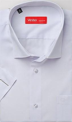 Рубашка прямая белая VESTER 70214-55sp-20 - фото 17133