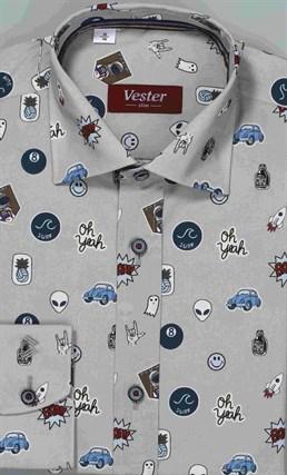Школьная сорочка VESTER 10616-01 - фото 17172
