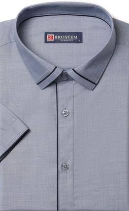 Приталенная рубашка с модалом BROSTEM 1SBR008-2 - фото 17276