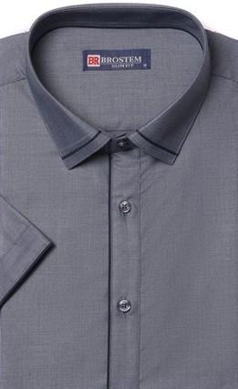 Приталенная с модалом рубашка BROSTEM 1SBR008-1 - фото 17280