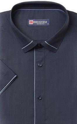 Приталенная с модалом рубашка BROSTEM 1SBR008-6 - фото 17284
