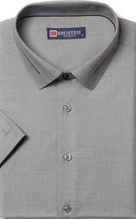 Приталенная с модалом рубашка BROSTEM 1SBR009-5 - фото 17292
