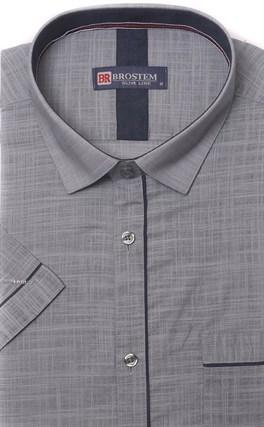 Мягкая летняя рубашка короткий рукав BROSTEM 1SBR039-2s* - фото 17346