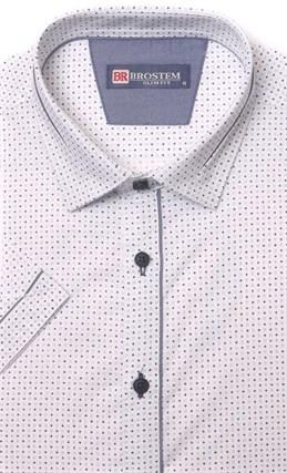 Хлопковая приталенная рубашка BROSTEM 1SBR085-1s** - фото 17362