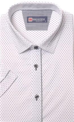 Хлопковая приталенная рубашка BROSTEM 1SBR085-2s** - фото 17366