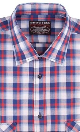 100% хлопок рубашка мужская Brostem SH650-1s - фото 17411