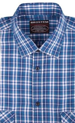 100% хлопок рубашка мужская Brostem SH654-2s - фото 17415