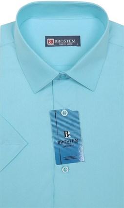 Модал с хлопком полуприталенная рубашка BROSTEM 4721s* - фото 17419