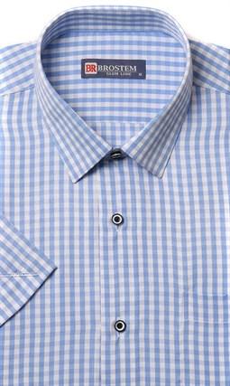 Полуприталенная рубашка с коротким рукавом BROSTEM 1SBR47-1s* - фото 17423