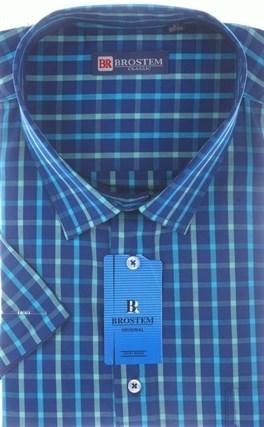 100% хлопок рубашка большого размера BROSTEM 8SG16-13sg - фото 17483