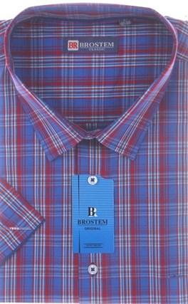 100% хлопок рубашка большого размера BROSTEM 8SG16-2sg - фото 17485