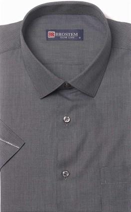 Мягкая летняя полуприталенная рубашка BROSTEM 1SBR090-4s* - фото 17545