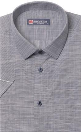 Приталенная с модалом рубашка BROSTEM 1SBR093-3s - фото 17558