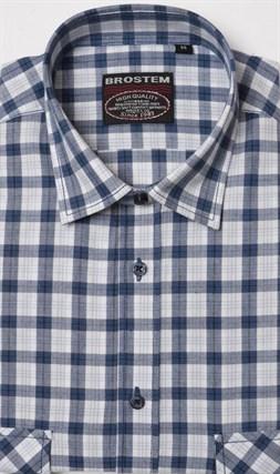 100% хлопок рубашка мужская SH3s Brostem - фото 17583