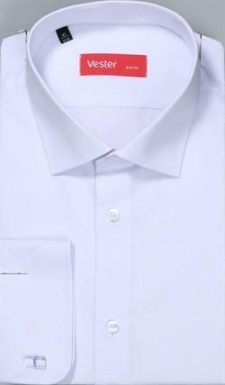 Рубашка прямая белая VESTER 70714-14-56 - фото 17594